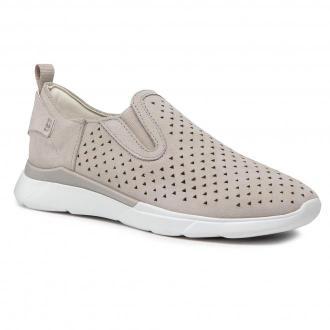 Sneakersy GEOX - D Hiver A D02FHA 00022 C1010 Lt Grey