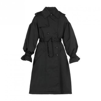 Moschino płaszcz Płaszcze Czarny Dorośli Kobiety Rozmiar: 40