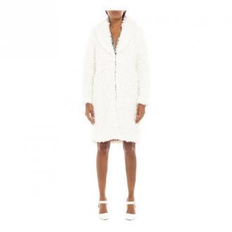LE Voiler Coat Płaszcze Biały Dorośli Kobiety Rozmiar: XS