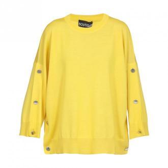 Moschino sweter Swetry i bluzy Żółty Dorośli Kobiety Rozmiar: 42