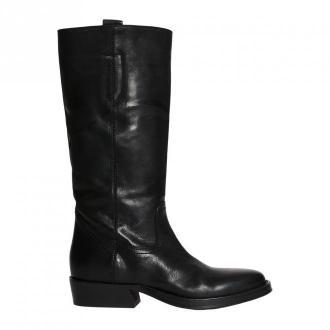 Lemaré Boot in matte leather Obuwie Czarny Dorośli Kobiety Rozmiar: 38