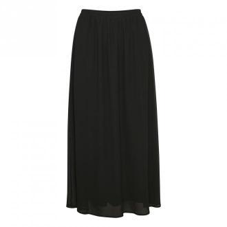 Saint Tropez Dedina Skirt Spódnice Czarny Dorośli Kobiety Rozmiar: XS