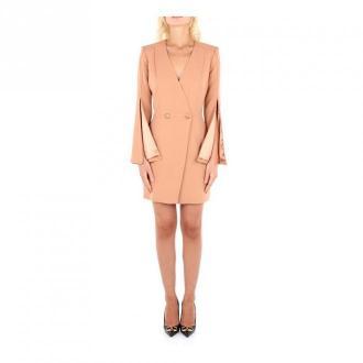 Elisabetta Franchi Ab05606E2 Sukienka Sukienki Różowy Dorośli Kobiety
