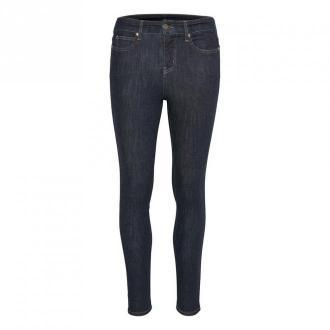 Karen by Simonsen Zaopatrzenia Super Fit Jeans Jeansy Niebieski