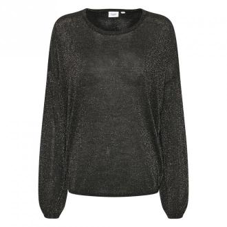 Saint Tropez Pullover Swetry i bluzy Czarny Dorośli Kobiety Rozmiar:
