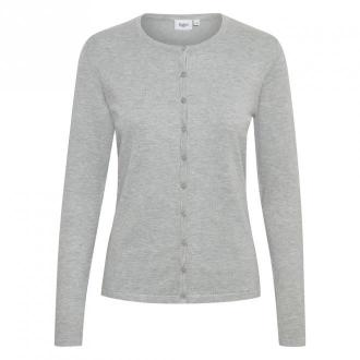 Saint Tropez Mila Cardigan Swetry i bluzy Szary Dorośli Kobiety