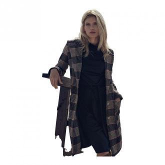 Figl Płaszcz M718 Płaszcze Szary Dorośli Kobiety Rozmiar: XL