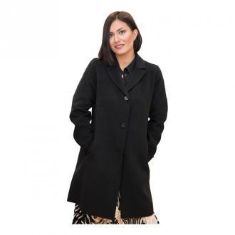 Marella Coat Płaszcze Czarny Dorośli Kobiety Rozmiar: 46