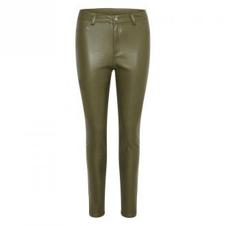Saint Tropez DelaneySZ Pants Spodnie Zielony Dorośli Kobiety Rozmiar: