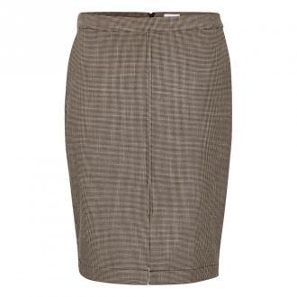 Saint Tropez Dixi Skirt Spódnice Brązowy Dorośli Kobiety Rozmiar: L