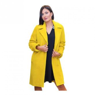 Marella Coat Płaszcze Żółty Dorośli Kobiety Rozmiar: S