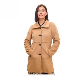 Marella Coat Płaszcze Beżowy Dorośli Kobiety Rozmiar: XL