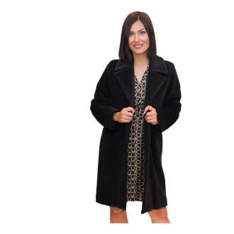 Marella Coat Płaszcze Czarny Dorośli Kobiety Rozmiar: L