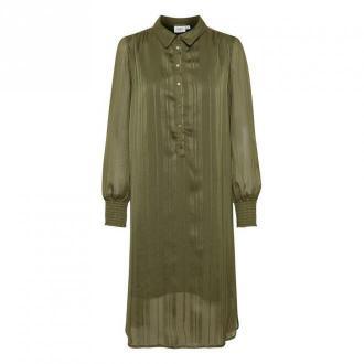 Saint Tropez Dahlia Dress Sukienki Zielony Dorośli Kobiety Rozmiar: L