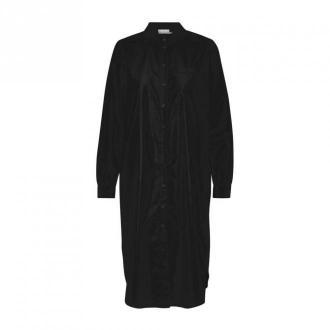 Kaffe Merama Koszula Sukienka Sukienki Czarny Dorośli Kobiety Rozmiar: