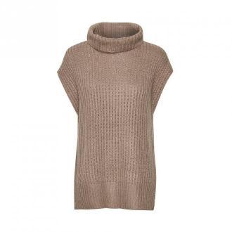 Saint Tropez Ellen Vest Swetry i bluzy Szary Dorośli Kobiety Rozmiar: