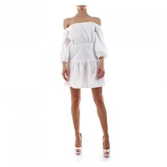 Guess W0Gk1J Wctr0 Sukienki Sukienki Biały Dorośli Kobiety Rozmiar: M