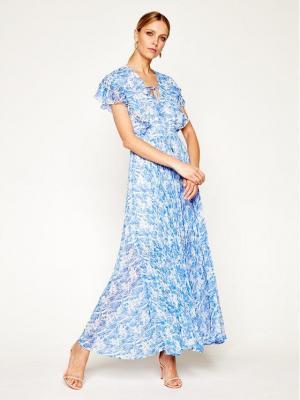 Patrizia Pepe Sukienka codzienna 2A2112/A6Z9-XU05 Niebieski Regular Fit