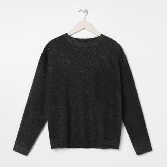 Sinsay - Sweter - Czarny