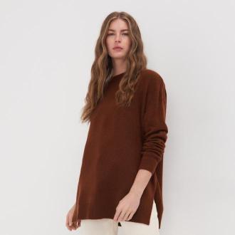 Sinsay - Sweter - Brązowy