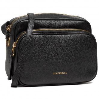 Torebka COCCINELLE - H60 Lea E1 H60 15 01 01 Noir 001