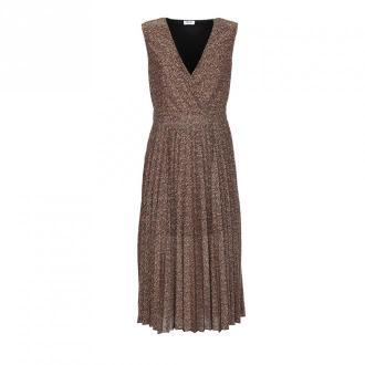 Liu Jo Sukienka Sukienki Brązowy Dorośli Kobiety Rozmiar: S - 42 IT