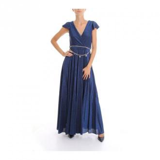 Liu Jo Sukienka Sukienki Niebieski Dorośli Kobiety Rozmiar: 42