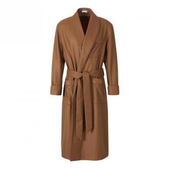 Santa Eulalia Cashmere Dressing Gown Bielizna nocna Brązowy Dorośli