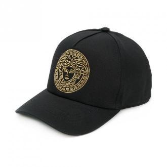 Versace Cap Akcesoria Czarny Dorośli Kobiety Rozmiar: 59