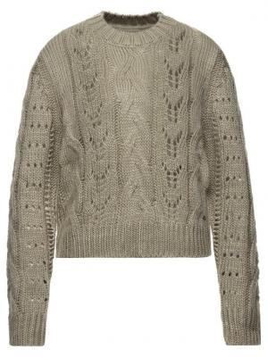 Pepe Jeans Sweter Candela PL701516 Beżowy Regular Fit