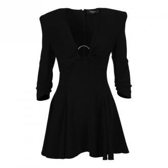 Versace sukienka A88610A236477 Sukienki Czarny Dorośli Kobiety