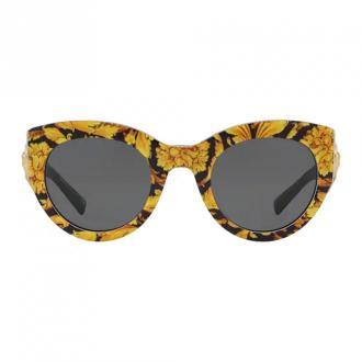 Versace Okulary przeciwsłoneczne Ve4353 Akcesoria Żółty Dorośli