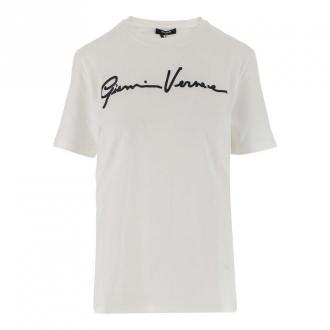 Versace podkoszulek Koszulki i topy Biały Dorośli Kobiety Rozmiar: 38