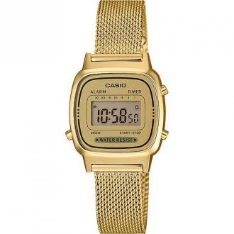 Casio Watch UR La670Wemy-9Ef Akcesoria Żółty Dorośli Kobiety Rozmiar: