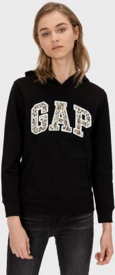 GAP czarna bluza damska z logiem - XS