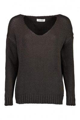 Brązowy sweter damski 84111