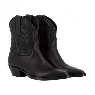 Lemaré Texan ankle boots Obuwie Czarny Dorośli Kobiety Rozmiar: 37