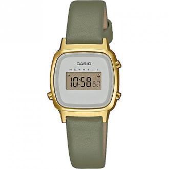 Casio Watch - La670Wefl-3Ef Akcesoria Zielony Dorośli Kobiety Rozmiar: