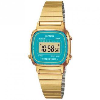 Casio Watch UR - La670Wega-2Ef Akcesoria Żółty Dorośli Kobiety