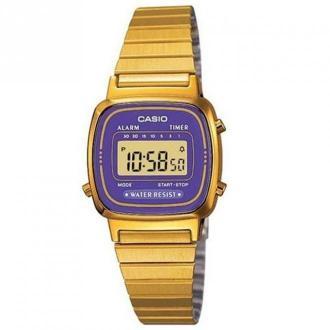 Casio Watch La670Wega-6Ef Akcesoria Żółty Dorośli Kobiety Rozmiar: