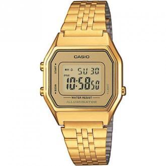 Casio Watch La680Wega-9Er Akcesoria Żółty Dorośli Kobiety Rozmiar: