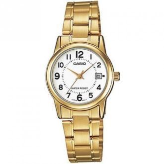 Casio Watch Ltp-V002G-7 Akcesoria Żółty Dorośli Kobiety Rozmiar: