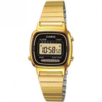 Casio Watch La670Wega-1Ef Akcesoria Żółty Dorośli Kobiety Rozmiar: