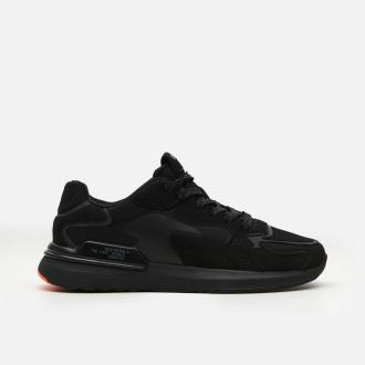 Cropp - Sneakersy z kolorowym detalem - Czarny