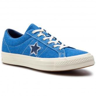 Tenisówki CONVERSE - One Star Ox 164359C Totally Blue/Navy/Egret