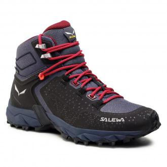 Trekkingi SALEWA - Ws Alpenrose 2 Mid Gtx GORE-TEX 61374-0988 Asphalt/Tawny Port