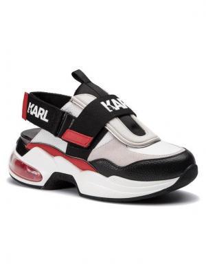 KARL LAGERFELD Sandały KL61710 Kolorowy