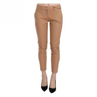 Just Cavalli Skinny Trousers Spodnie Beżowy Dorośli Kobiety Rozmiar: