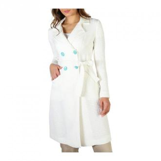 Fontana 2.0 Coat Płaszcze Biały Dorośli Kobiety Rozmiar: 44