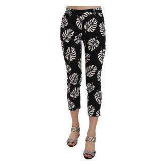 Dolce & Gabbana Skinny Pants Spodnie Czarny Dorośli Kobiety Rozmiar: